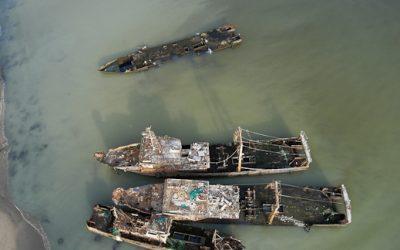 Les épaves de la baie de Nouadhibou