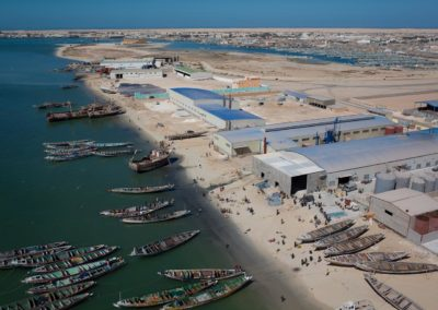 Usines-farines-poisson - Nouadhibou - Mauritanie
