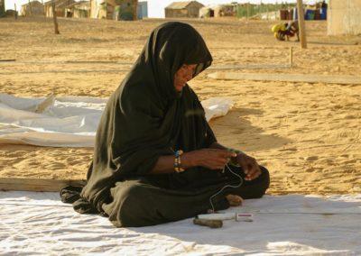 femmes voilières-village de R'Gueiba