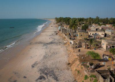 Erosion de la plage de Ngallou