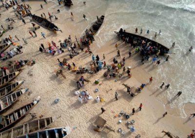 Port de pêche artisanale