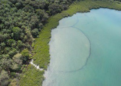 Zona de Akedjo - Anciens barrages à poissons, AMP communautaire d'Urok, archipel des Bijagos, Guinée Bissau