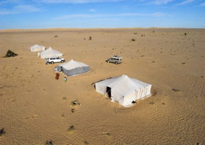 Campement-nomade