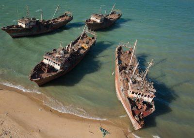 Epaves de chalutiers - Nouadhibou-Mauritanie