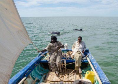 pêche à pied à bord d'Ichiglane