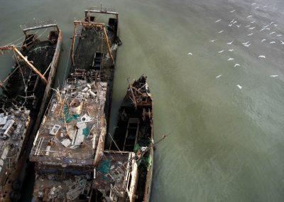 Projets d'enlèvement des épaves de Nouadhibou ( UE +RIM)