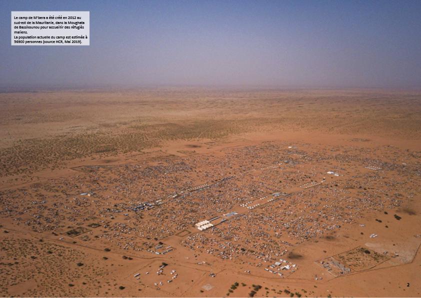 Le camp de M'bera, étude environnementale