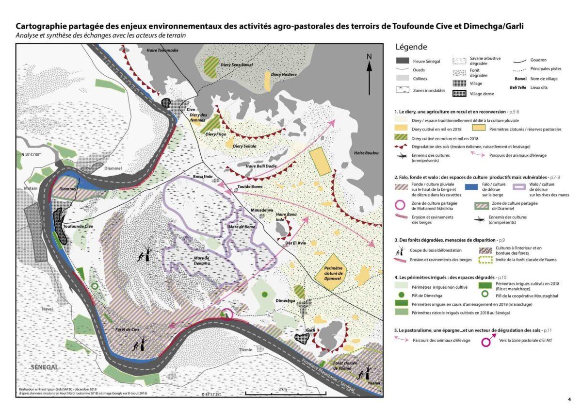 Programme SAP3C -Cartographie partagée des enjeux environnementaux– Mauritanie